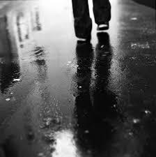 waking in the rain