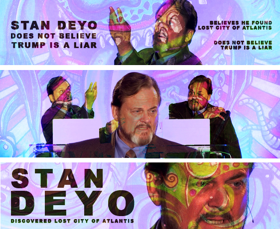 Stan Deyo Found Lost City Of Atlantis, Thinks Donald Trump Does Not Lie | CB182